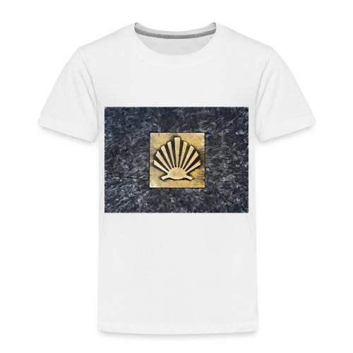 Scallop Shell Camino de Santiago - Kids' Premium T-Shirt