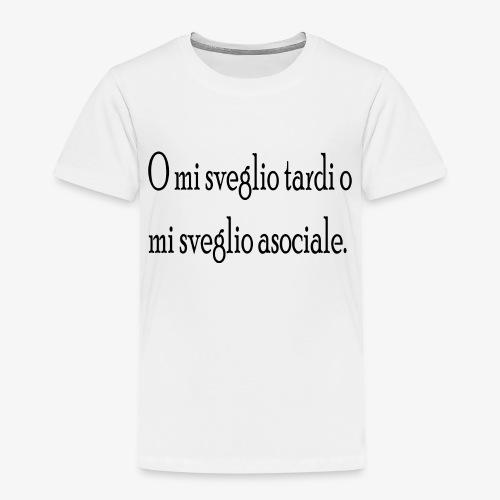 asociale - Maglietta Premium per bambini