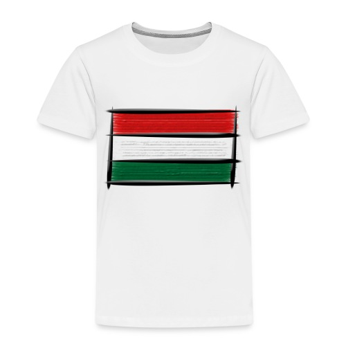 Art Flagge Ungarn - Kinder Premium T-Shirt