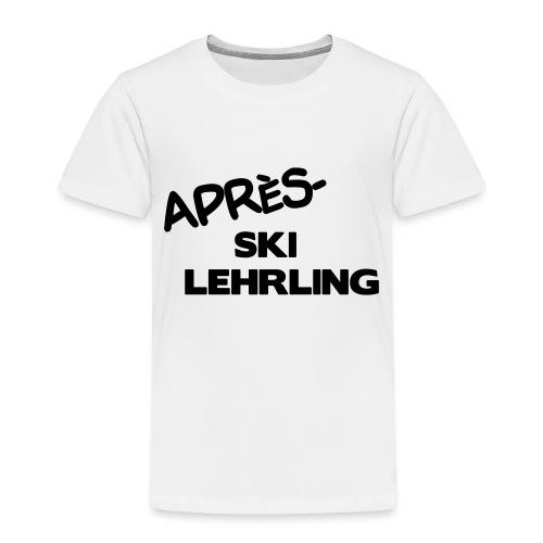 Après Ski Lehrling, Winter Shirt - Kinder Premium T-Shirt