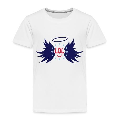Tablier de cuisine : LOL avec aile ange - Kids' Premium T-Shirt