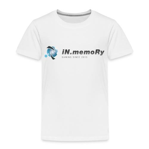 inm logo v1 dunkel png - Kinder Premium T-Shirt
