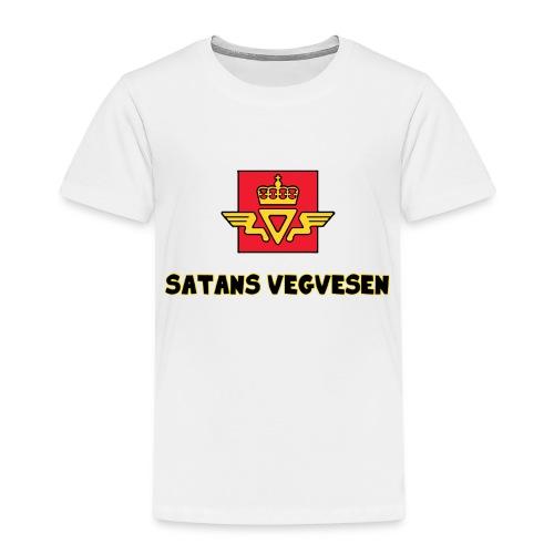 Satans Vegvesen - Premium T-skjorte for barn