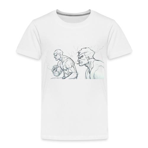 Drawing_1-jpg - Kids' Premium T-Shirt