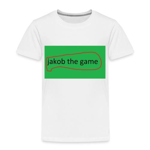 jakobthegame - Børne premium T-shirt