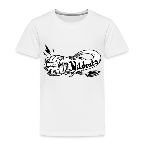 Wildcats Logo - Kinder Premium T-Shirt