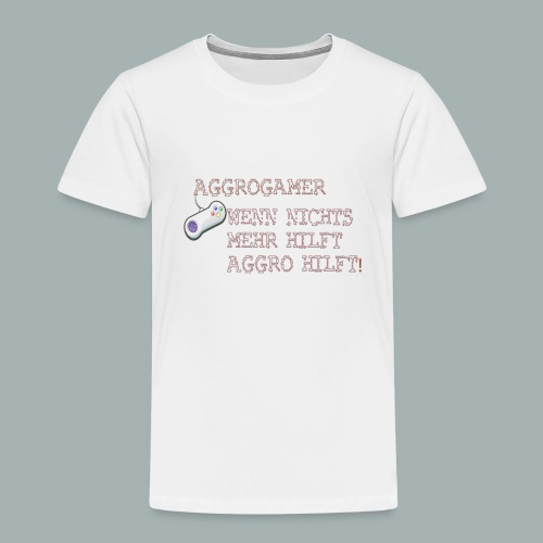 Aggrogamer Tasse - Kinder Premium T-Shirt
