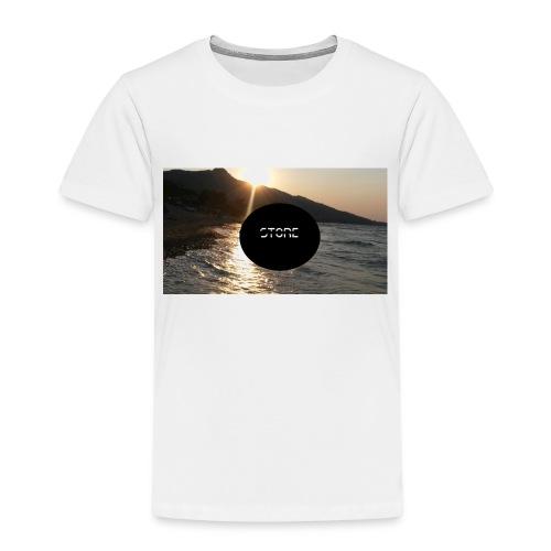Überzug für Polster - Kinder Premium T-Shirt