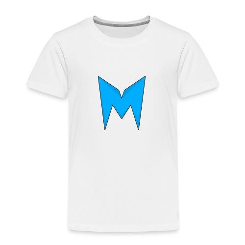 Tee-shirt Madcrow Noir & Logo Bleu - T-shirt Premium Enfant