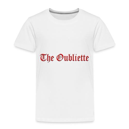 The Oubliette Apron - Kids' Premium T-Shirt