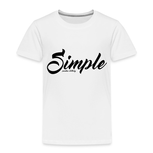 Simple: Clothing Design - Kids' Premium T-Shirt