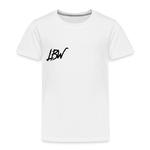 WHITE LBW T-SHIRT - Kids' Premium T-Shirt