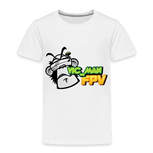 vic_man fpv oficial - Camiseta premium niño