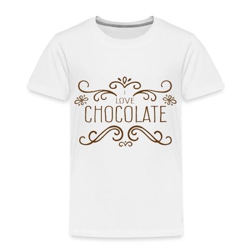 I Love Chocolate - T-shirt Premium Enfant