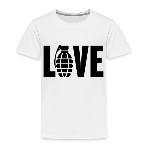 LOVE Grenade - Kids' Premium T-Shirt