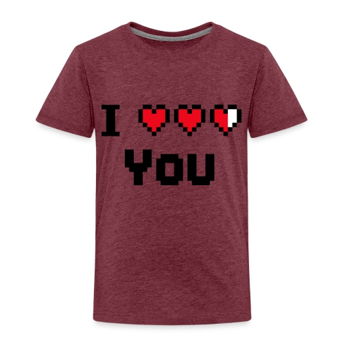 I pixelhearts you - Kinderen Premium T-shirt