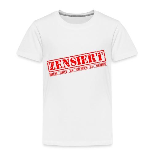 Panty Zensiert - Kinder Premium T-Shirt