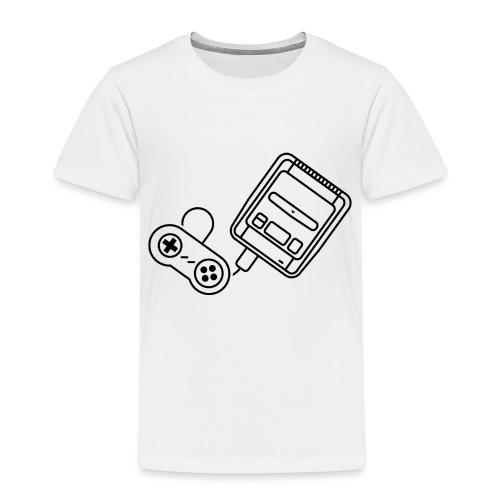 Super - Noir - T-shirt Premium Enfant