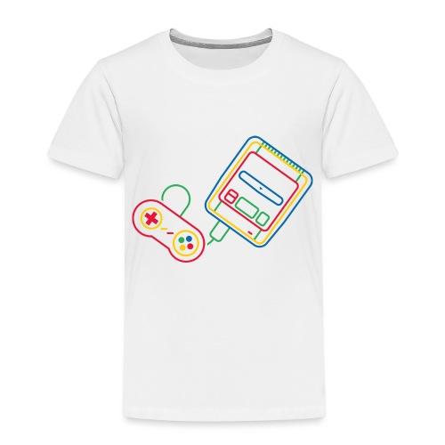 Super NES - Couleur - T-shirt Premium Enfant