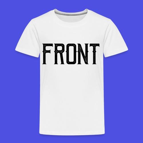 Front tshirt - Kinderen Premium T-shirt