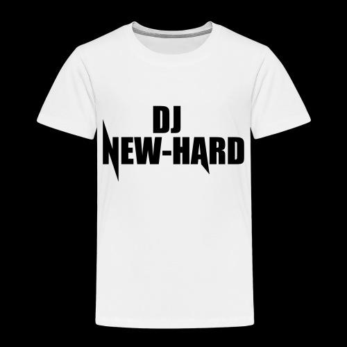 DJ NEW-HARD LOGO - Kinderen Premium T-shirt