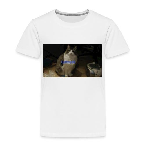 Emilie med Catboy06 på - Premium T-skjorte for barn