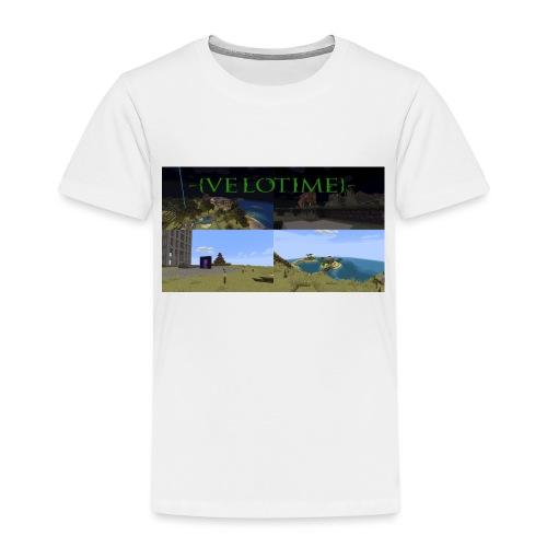 Velotime! - Premium-T-shirt barn