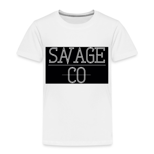 SAVAGE CO. - Camiseta premium niño