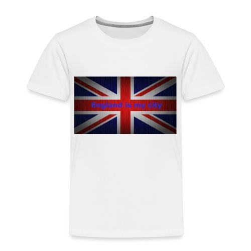 England is my city t shirt - Kinderen Premium T-shirt