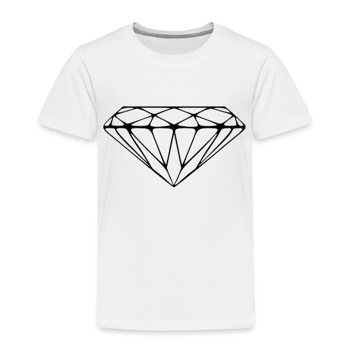 2000px Diamond svg - Kinderen Premium T-shirt