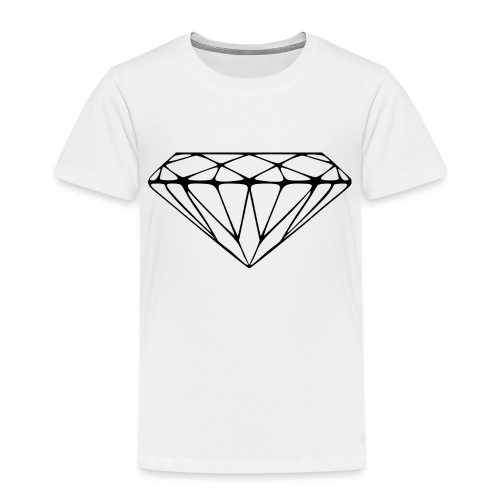 2000px Diamond svg - Kinderen Premium T-shirt