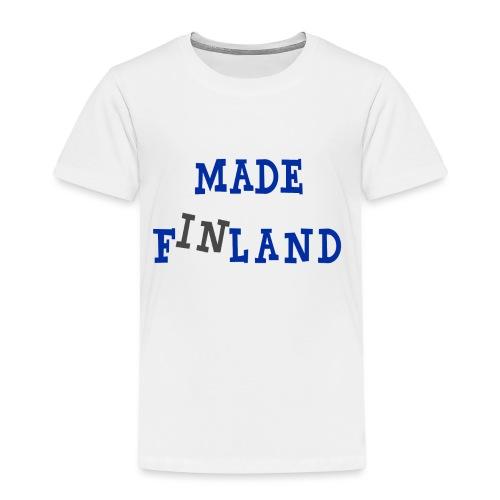 Made in Finland - Lasten premium t-paita