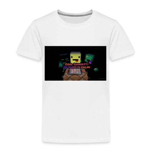 Cool Gamer yt - Premium T-skjorte for barn