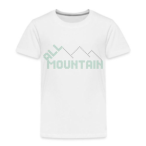 ALL MOUNTAIN - Kinder Premium T-Shirt