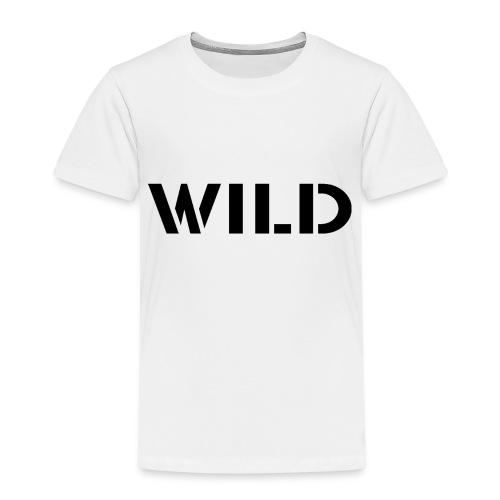WILD Baseball shirt - T-shirt Premium Enfant