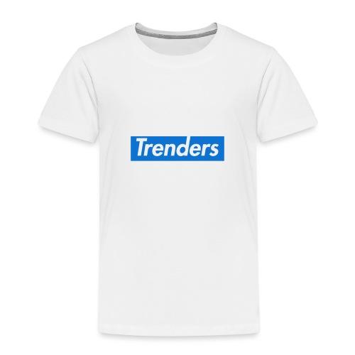 logo oficial trenders grande - Camiseta premium niño