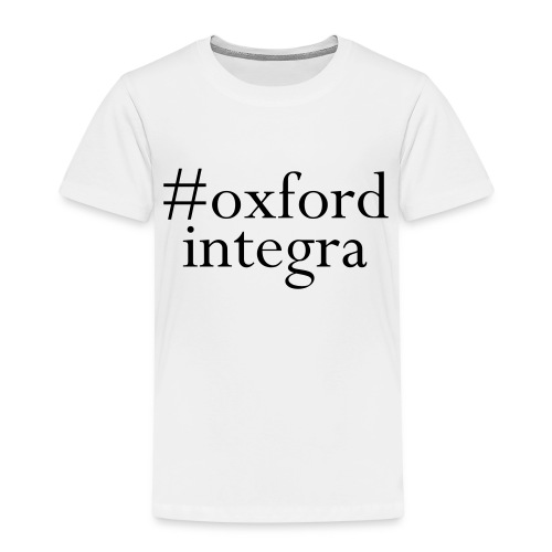 #oxfordintega centred - Kids' Premium T-Shirt