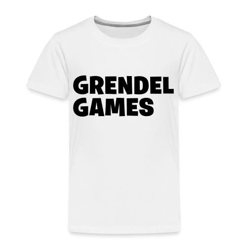 grendel text - Kids' Premium T-Shirt
