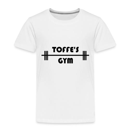Toffe's gym black - Premium-T-shirt barn