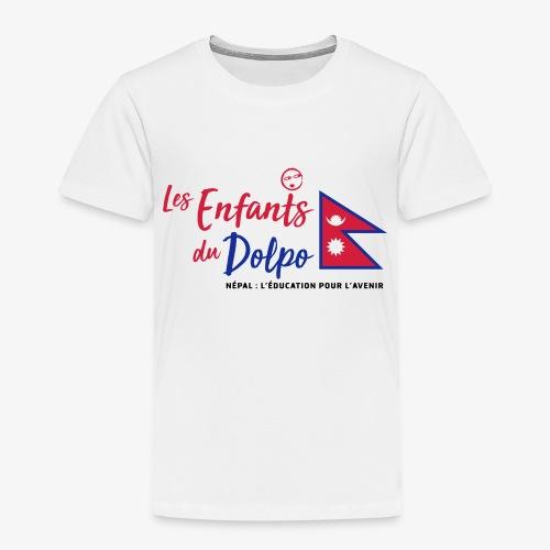 Les Enfants du Doplo - Grand Logo Centré - T-shirt Premium Enfant