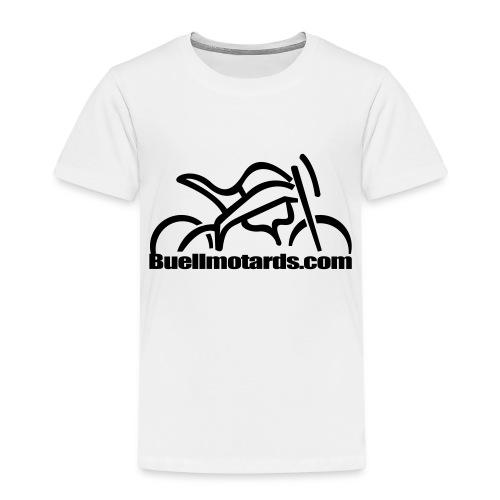 logo buellmotards black - Camiseta premium niño