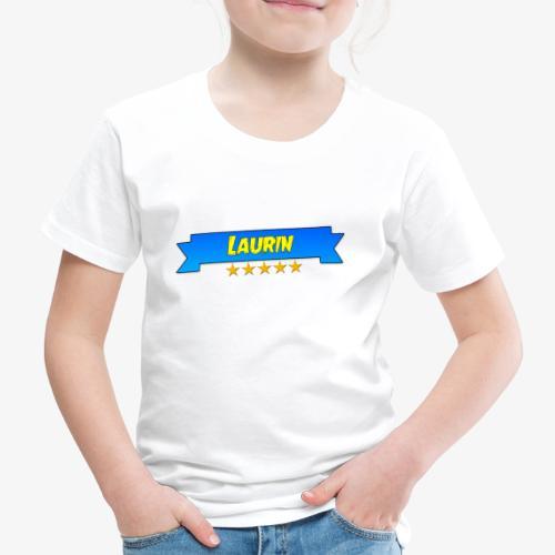 Laurin   Deluxe Merch - Kinder Premium T-Shirt