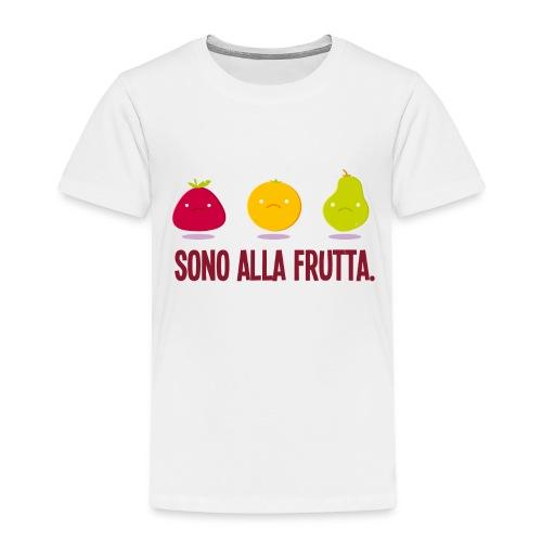 Sono alla Frutta - Maglietta Premium per bambini
