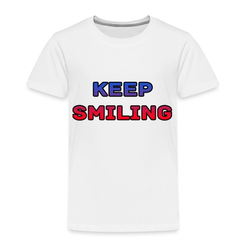 NEW keep smiling Mrspidey - Kids' Premium T-Shirt