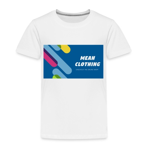 MEAH CLOTHING LOGO - Kids' Premium T-Shirt