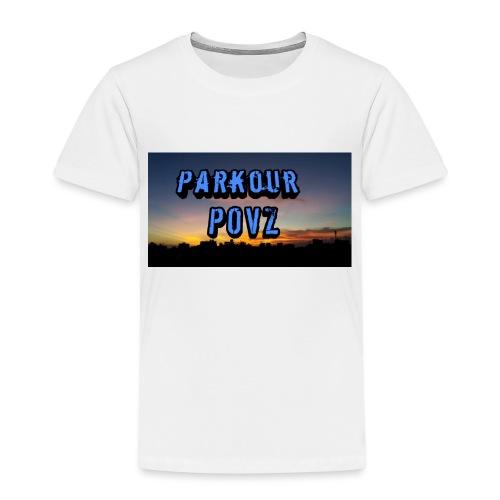 Parkour POVZ merchandise - Kids' Premium T-Shirt