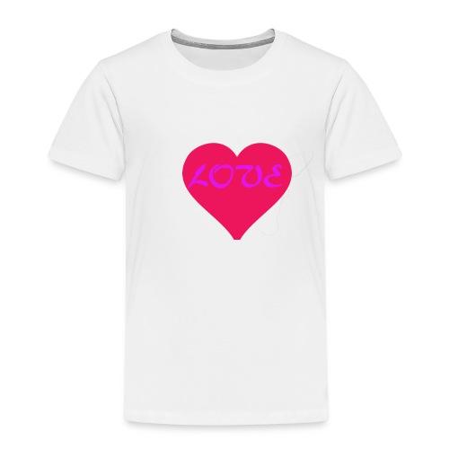 LOVE - T-shirt Premium Enfant