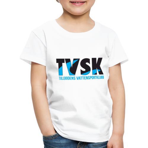 TVSKs färglogo - Premium-T-shirt barn