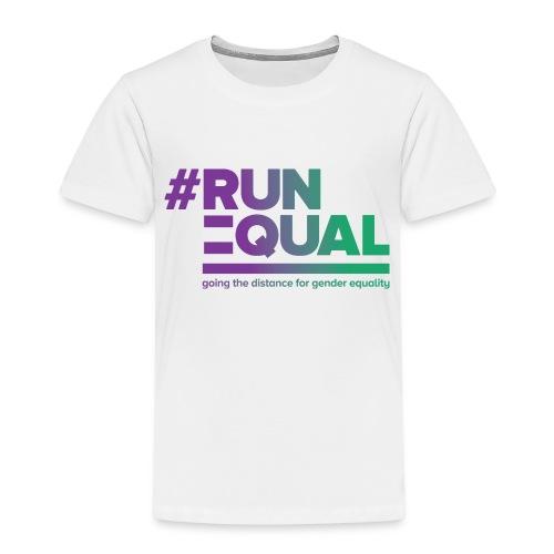Gender Equality in Athletics #runequal - Kids' Premium T-Shirt