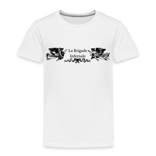BI Logo Noir - T-shirt Premium Enfant